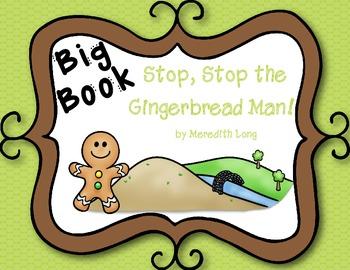 Gingerbread Man Big Book