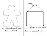 Gingerbread Man Book