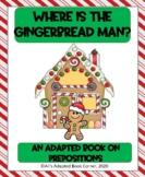 Gingerbread Man Book on Prepositions! Preschool-K, Special
