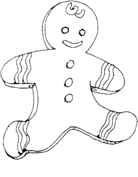 Gingerbread Man Booklet