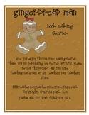Gingerbread Man Writing Center