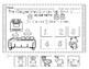 Gingerbread Man & Boy-Black & White Sequencing Printables