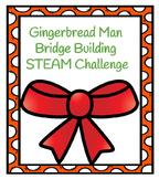 Gingerbread Man Bridge Building Challenge
