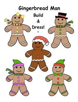 Gingerbread Man Build & Dress!