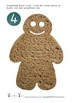 Gingerbread Man Button Count