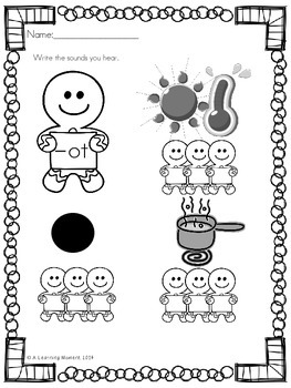 Gingerbread Man COMPLETE UNIT {100 pages}