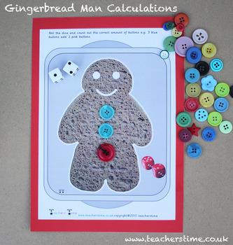 Gingerbread Man Calculations