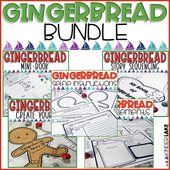 Gingerbread Man: Sequencing & More