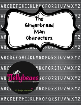 Gingerbread Man Characters