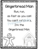 Gingerbread Man - Christmas Poem for Kids