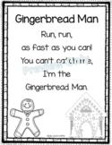 Gingerbread Man - Christmas Poem for Kids