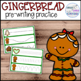 Gingerbread Man Christmas Pre-Writing Practice