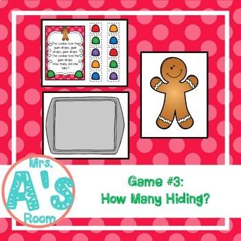 Gingerbread Man Circle Time Activities Set #2 **BUNDLE**