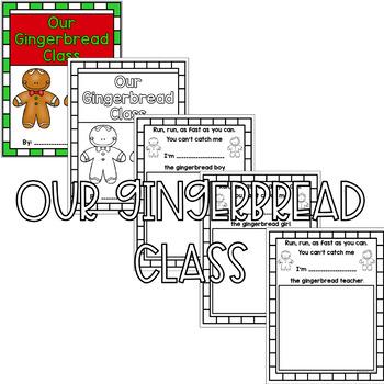 Gingerbread Class Book