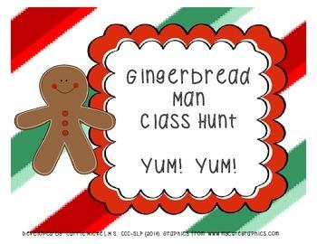 Gingerbread Man Class Hunt