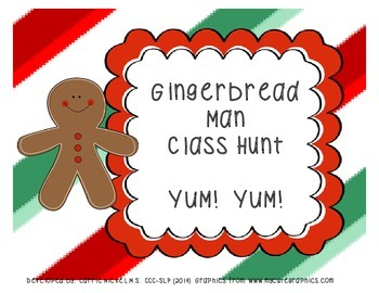 Gingerbread Man Class Hunt
