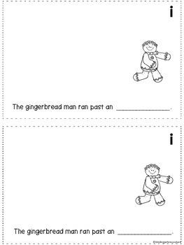Gingerbread Man Class Alphabet Book