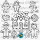 Gingerbread Man Clip Art   Christmas Clipart