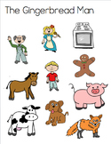 Gingerbread Man Clip Art Drawings