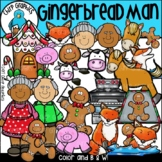 Gingerbread Man Clip Art Set - Chirp Graphics
