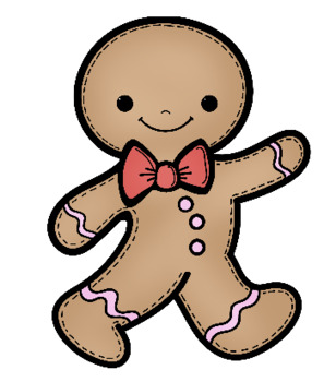 Gingerbread man clip art by whimsy workshop teaching tpt gingerbread man clip art voltagebd Image collections