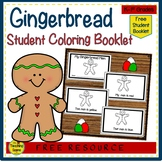 Gingerbread Man Color Word Student Booklet {FREE}