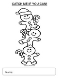 Gingerbread Man Color a Rhyme