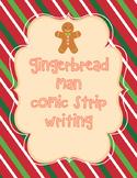Gingerbread Man Comic Strip/Writing Prompt