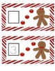 Gingerbread Man Common Core Leveled Writing Dry/Erase Activity Cards