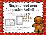 Gingerbread Man Companion Activities