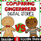 Gingerbread Man Compare and Contrast Story Structure DIGITAL
