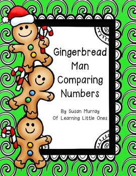 Gingerbread Man Comparing Numbers