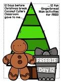 Gingerbread Man Cookie Sentence Scramble