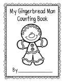 Gingerbread Man Counting Book 11-20