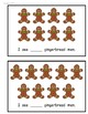 Gingerbread Man Counting Book