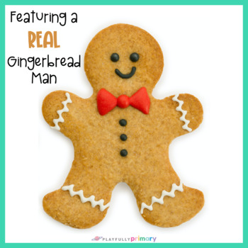 Gingerbread Man Counting Frames | Mini Eraser Math Center