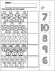 Gingerbread Man Cut & Match Worksheets   Numbers 6-10