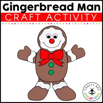 Gingerbread Man Cut and Paste