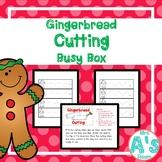 Gingerbread Man Cutting Busy Box