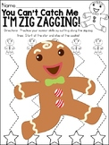 Gingerbread Man Cutting Practice