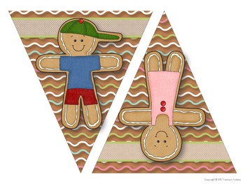 Gingerbread Man Decor and Holiday Gift Ideas