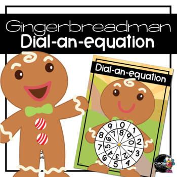 Gingerbread Man Dial-a-Sum