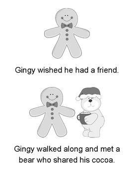 Gingerbread Man Easy Reader