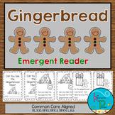 Gingerbread Man Emergent Reader