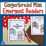 Gingerbread Man Emergent Reader Set & Sight Word Game