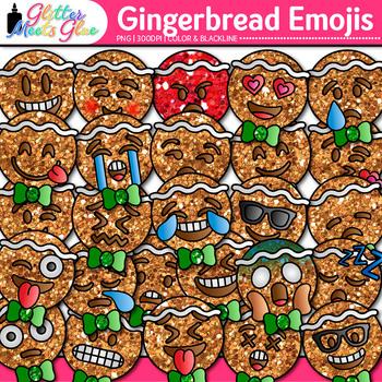 emoji gingerbread man clip art christmas emoticon smiley faces for decor - Christmas Smiley Faces