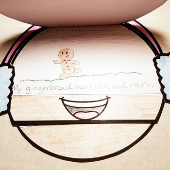 Gingerbread Man Emoji Craft Activity for the Holidays