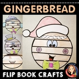 Gingerbread Man Story Writing and Craft Activity for the Holidays