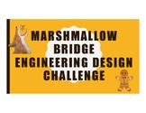 Gingerbread Man - Engineering Design Challenge - Marshmallow Bridge