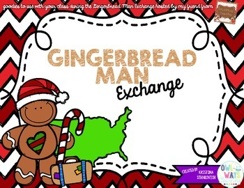 Gingerbread Man Exchange Goodies